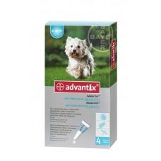 Advantix (Адвантикс®) капли на холку от блох, клещей и комаров  для собак 4 кг -10 кг