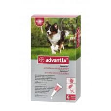 Advantix (Адвантикс®) капли на холку от блох, клещей и комаров для собак 10 кг – 25 кг