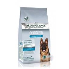 ARDEN GRENG Sensitive Puppy/Junior: Ocean White Fish & Potato-для щенков и юниоров с океанической рыбой и бататом