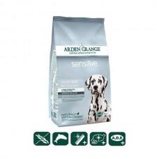 ARDEN GRANGE Sensitive корм для собак океаническая белая рыба и картофель