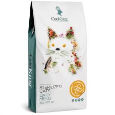 CooKing STERELIZED CATS для стерилизованных кошек с курицей