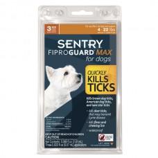 ФИПРОГАРД МАКС (FiproGuard MAX) капли от блох, клещей и вшей для собак 2-10 кг