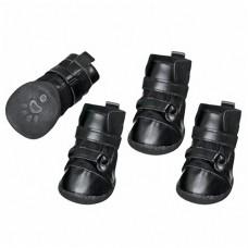 Karlie-Flamingo (Карли-Фламинго) XTREME BOOTS ботинки для собак, комплект 4 шт, черный
