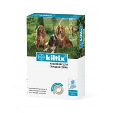 Kiltix (Килтикс®) ошейник от клещей до 7 месяцев  для собак средних пород - 48 см