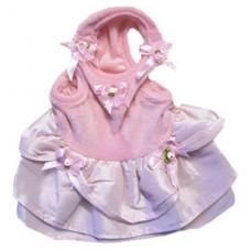 MonkeyDaze ОЧАРОВАШКА (Pink velour dress) розое велюровое платье