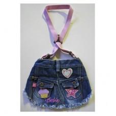 MonkeyDaze БАРБИ (Barbie skirt denim) котоновая юпочка