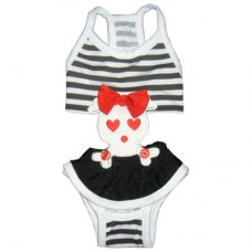 MonkeyDaze ЧЕРЕП (Skull bathing suit) купальный костюм, одежда для собак