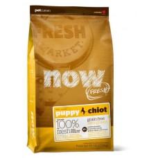 NOW FRESH Беззерновой для Щенков с Индейкой, Уткой и овощами (Fresh Puppy Recipe Grain Free)