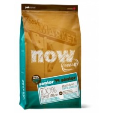 NOW! GRAIN FREE Senior & Weight Management Dog Large Breed: Turkey, Duck and Vegetables (24/10) – 11,34 кг