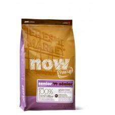 NOW! Контроль веса - Беззерновой для Кошек с Индейкой, Уткой и овощами (Fresh Grain Free Senior Cat Recipe 30/14)
