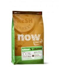 NOW! Беззерновой для Котят с Индейкой, Уткой и овощами (Fresh Grain Free Kitten Recipe 33/20)