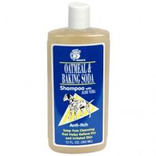 Ring5 ОВСЯНАЯ МУКА С СОДОЙ (Oatmeal-Baking Soda) шампунь от зуда для собак и кошек