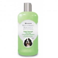 Veterinary Formula ТРОЙНАЯ СИЛА (Triple Strength Dog Shampoo) шампунь для собак и кошек