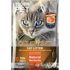 CAT Secret Bentonite CAT Litter Lemon-лимон