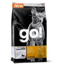 NEW! GO! Sensitivity + Shine Duck Dog Recipe, Grain Free, Potato Free (Беззерновой с уткой)