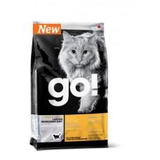 GO! Беззерновой для котят и кошек с чувств.пищеварением со свежей уткой (Sensitivity + Shine Grain Free Duck Cat Recipe 31/15)