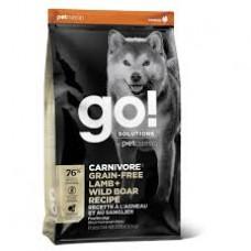 GO! SOLUTIONS Carnivore: Lamb & Wild Boar беззерновой с ягненком и мясом дикого кабана. (32/16)