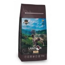 LANDOR ADULT DOG с мясом ягненка - сухой корм на каждый день, идеально для взрослых собак всех пород