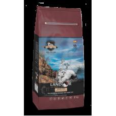 LANDOR GRAIN FREE FOR CAT TURKEY & POTATO - Полнорационный сухой беззерновой корм для кошек индейка с бататом