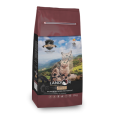 LANDOR STERILIZED RABBIT&RICE Сухой корм для стерилизованных кошек с кроликом и рисом