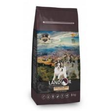 LANDOR ADULT SMALL BREED DOG с мясом утки – идеальный сухой корм для маленьких пород