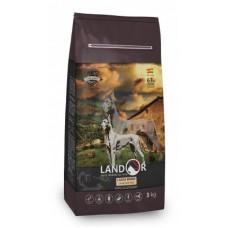 LANDOR ADULT LARGE BREED DOG с мясом ягненка - идеальный корм на каждый день, лучший выбор для взрослых питомцев