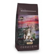 LANDOR PUPPY ALL BREED DUCK & RICE Сухой корм для щенков всех пород с уткой и рисом