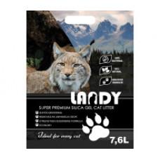 LANDY-Силикагелевый наполнитель для кошачьего туалета 7,6L