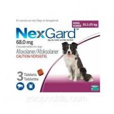 NexGard (НексГард) 10-25кг.для собак L