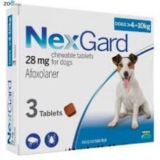 NexGard (НексГард) 4-10кг.для собак M