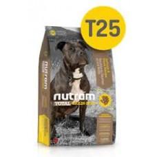 Nutram T25 Total Grain-Free® Salmon & Trout Dog Food-Беззерновой для собак всех возрастов с лососем и форелью