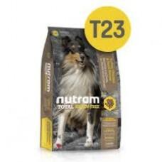 Nutram T23 Total Grain-Free® Turkey, Chiken & Duck Dog Food-Беззерновой для собак всех возрастов с индейкой,цыпленком и уткой