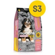 Nutram S3 Sound Balanced Wellness® Natural Large Breed Puppy Food-Для щенков крупных пород